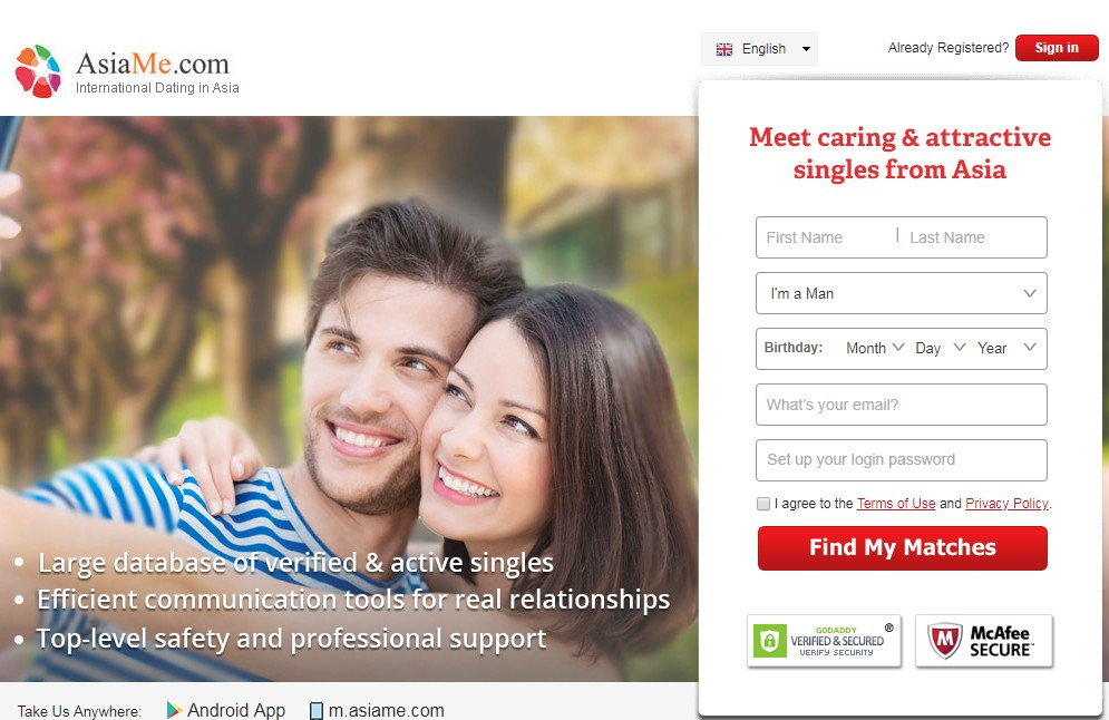 AsiaMe-Popular Asian Dating Site